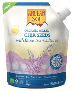 Andean Sol Chia Seed with Bioactive Cultures